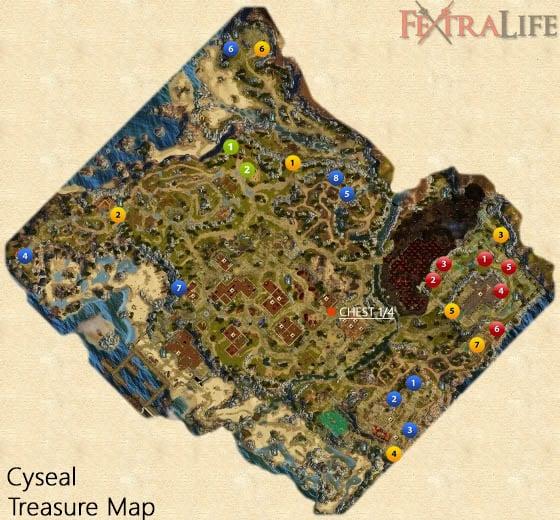 Cyseal Treasure Map   Divinity Original Sin Wiki